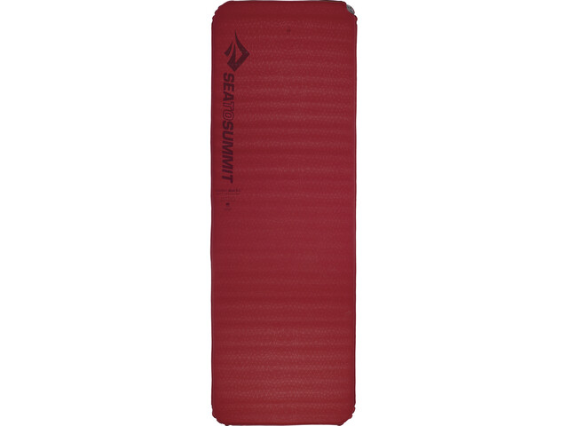 Sea to Summit Comfort Plus Matelas autogonflant Rectangulaire Large, red